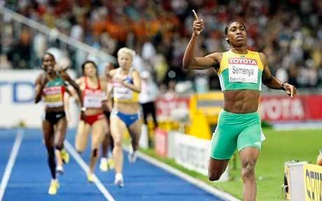 Caster Semenya championne du monde