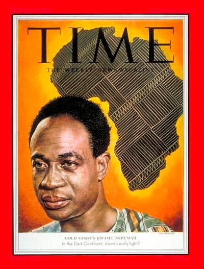 L'indépendance historique du Ghana par Kwame Nkrumah