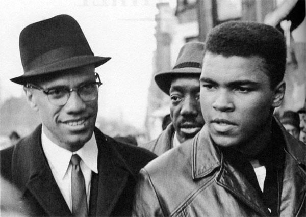 Malcolm X et Mohammed Ali