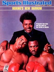 Mohammed Ali et Joe Frazier