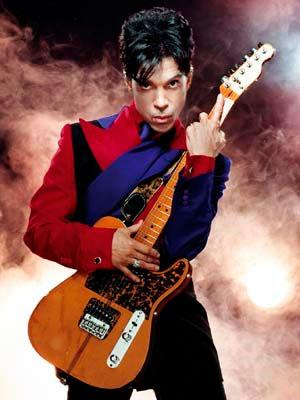 Le chanteur américain Prince
