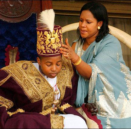 Le plus jeune roi du monde, le roi Oyo