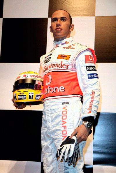 Le plus jeune champion de la Formule 1, Lewis Hamilton