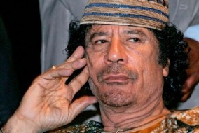 le Guide Mouammar Kadhafi