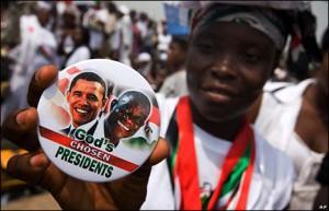 Barack Hussein Obama et John Atta Mills