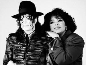 Oprah Winfrey et Micheal Jackson