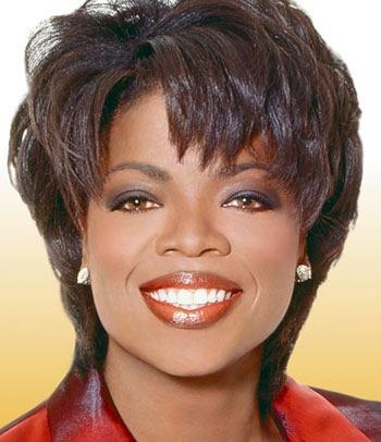 Oprah Winfrey à ses débuts