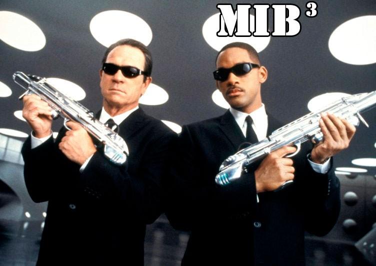 """Columbia Pictures a fixé pour le 25 mai 2012 la date de sortie pour un troisième film de la désormais trilogie """"Men in Black""""."""