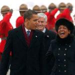 Michaëlle Jean et le président américain Barack Hussein Obama