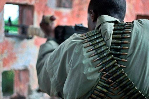 Soldat somalien