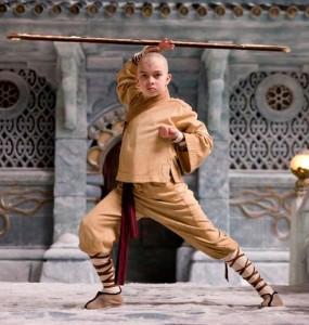 Aang est le héros de la série animée Avatar, le dernier maître de l'air de Nickelodeon.