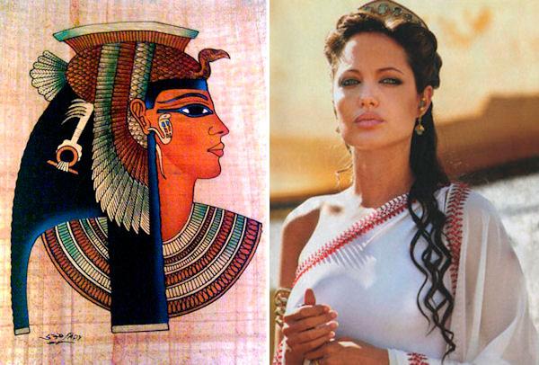 Angelina Jolie dans la peau de Cléopâtre