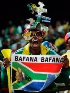 Supporter du Bafana Bafana