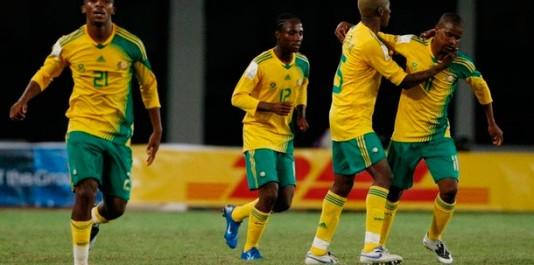 L'équipe d'Afrique du Sud de football, surnommée les Bafana Bafana, est constituée par une sélection des meilleurs joueurs sud-africains sous l'égide de la Fédération d'Afrique du Sud de football.