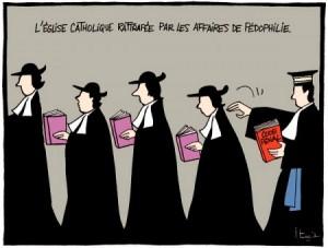 Caricature de Michel itturia