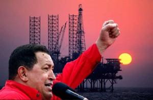 Le Venezuela d'Hugo Chavez va nationaliser une flotte de plates-formes pétrolières appartenant à la société américaine Helmerich and Payne.