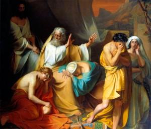 La Malédiction de Cham (ou Ham) - qui porte en réalité sur son fils Canaan - est un épisode biblique au cours duquel Canaan est maudit par Noé, son grand-père, pour une faute commise par Cham son père.