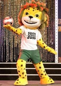 Zakumi (né le 16 juin 1994 (1994-06-16) (16 ans)) est la mascotte officielle pour la Coupe du monde de football de 2010. Son nom vient de « ZA », l'abréviation internationale pour l'Afrique du Sud, et « kumi », un mot qui signifie « dix » dans diverses langues africaines.