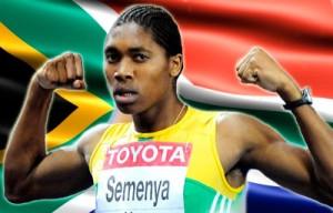 Caster Semenya fait ses débuts sur la scène internationale à l'occasion des Championnats du monde junior de 2008 de Bydgoszcz  sans toutefois parvenir à franchir le cap des séries du 800 mètres, en 2 min 11 s 98.