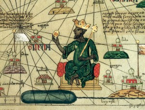 Kanga Moussa est le dixième « mansa » (roi des rois) de l'empire du Mali de 1312 à 1332  ou 1337. Il établit des relations diplomatiques suivies avec le Portugal, le Maroc, la Tunisie  et l'Égypte. Considéré comme l'un des souverains les plus richissimes de son époque, son règne correspond à l'âge d'or de l'empire malien.