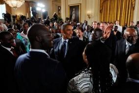 Barack Obama rencontre des leaders Africains à la Maison Blanche