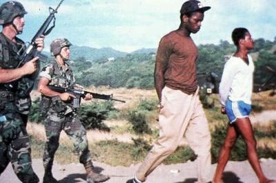 L'offensive débuta le 25 octobre 1983 à 5 heures du matin. Ce fut la première opération militaire d'envergure lancée par l'armée américaine depuis la guerre du Viêt Nam.