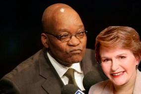 Helen Zille avale le parti d'oppostion Les Démocrates indépendants afin d'offrir une plus grande opposition à l'ANC, le parti dirigé par Jacob Zuma, au pouvoir depuis 1994