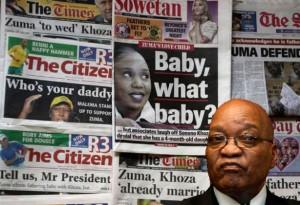 Les médias ont besoin de bien s'auto-gouverner car ils dépassent parfois les limites en terme de droit, a justifié mercredi le président Jacob Zuma à la télévision publique, après la révélation dans la presse de la naissance de son enfant illégitime ou encore de l'achat de voitures de luxe au sein de son gouvernement.