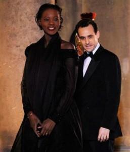 Rama Yade et son époux Joseph Zimet