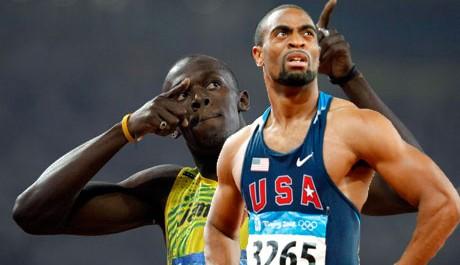L'américain Tyson Gay a donné au jamaicain, Usain Bolt le recordman mondial sa première défaite en deux ans dans l'épreuve du 100 mètres disputé à Stockholm