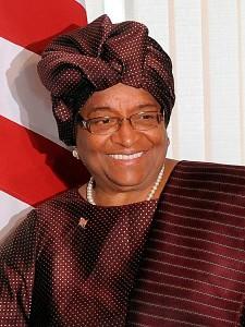 Ellen Johnson Sirleaf, née le 29 octobre 1938, est une femme politique libérienne. Présidente de la République depuis le 16 janvier 2006, cette économiste formée aux États-Unis est la première femme élue au suffrage universel à la tête d'un État africain. Elle est membre de Alpha Kappa Alpha Sorority, Incorporated, une organisation à action sociale, la première sororité bâtie par des femmes noires et leur étant destinée (1908).