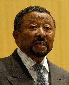 Jean Ping (né le 24 novembre 1942 à Omboué au Gabon), est un diplomate et homme politique gabonais. Il est élu président de la commission de l'Union africaine le 1er février 2008. Il était ministre d'État, ministre des Affaires étrangères, de la Coopération et de la Francophonie de la république du Gabon du 25 janvier 1999 au 6 février 2008. Il est titulaire d'un doctorat d'État en sciences économiques de l'Université Paris 1 Panthéon-Sorbonne. Il est né à Omboué. Son père est un Chinois du Wenzhou (sud-est de la Chine), qui s'est marié à une Gabonaise.