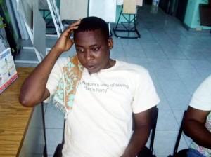 Fitzroy Linton à passé trois années incarcérées dans une cellule de 10 X 10 avec 64 autres détenus dans des conditions inhumaines en Haiti.