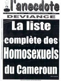 Les homosexuels au Cameroun font l'objet d'une véritable « chasse aux sorcières ».