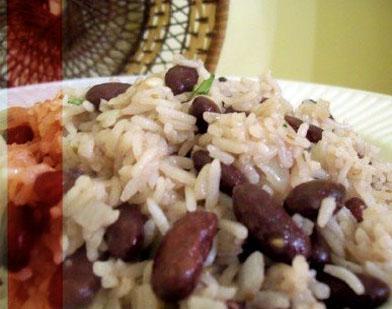 Le riz collé