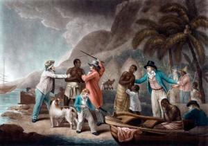Les Néerlandais participent activement à la traite négrière dans  l'histoire de l'esclavage