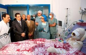 Ben Ali se rend au chevet de Mohamed Bouazizi