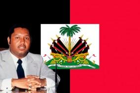 Dix jours après le renversement de Jean-Claude Duvalier, le 17 février 1986, le drapeau national historique fut réhabilité officiellement et confirmé par la constitution de 1987 plébiscitée lors du référendum du 29 mars 1987.