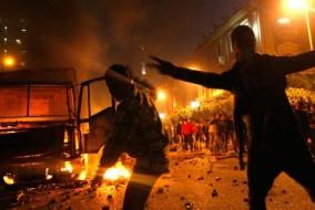 L'objectif principal des manifestants en Égypte est d'obtenir la démission du président égyptien Hosni Moubarak, au pouvoir depuis le 14 octobre 1981.