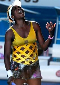 Venus Williams a défié des blessures graves et une douleur atroce de revendiquer une victoire remarquable à l'Open d'Australie