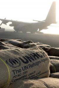 Le Haut Commissariat des Nations unies pour les réfugiés est basé à Genève et est un programme de l'ONU. Il a pour but originel de protéger les réfugiés, de trouver une solution durable à leurs problèmes et de veiller à l'application de la Convention de Genève sur les réfugiés de 1951
