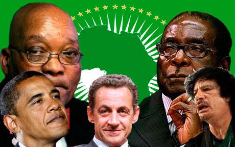 Robert Mugabe a accusé les pays occidentaux de profiter de l'agitation en Libye pour avoir accès à la richesse pétrolière du pays.