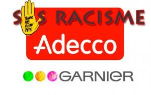 Adecco et Garnier se voit imposer un amende de 30 000 Euro (43 000 $) en dommages et intérêts pour discrimination raciale