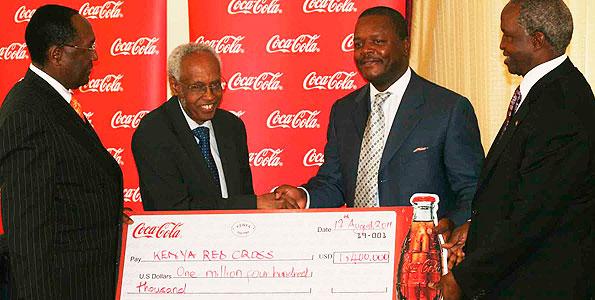 Nairobi est le siège social régional de plusieurs sociétés et organisations internationales. En 2007, General Electric, Young & Rubicam, Google, Coca-Cola, Airtel et Cisco Systems y ont emménagé leurs bureaux.