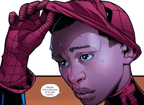 Miles Morales incarne le nouveau Spider-man de Marvel