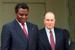 Selon Colette Braekmann, Pascal Krop et Gérard Prunier, le président François Mitterrand entretint une relation particulière avec Habyarimana, de même que leurs fils respectifs Jean-Pierre Habyarimana et Jean-Christophe Mitterrand, responsable de la cellule africaine à l'Elysée, que les Rwandais, comme d'autres Africains, appelaient « papa m'a dit» .