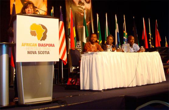 Plus de 300 conférenciers et délégués provenaient de 29 différents pays appartenant à l'Amérique du Nord, l'Europe, l'Afrique et les Caraïbes se sont réunies pour la 7e conférence International African Diaspora Heritage Trail, qui réunit des gens qui désirent préserver, promouvoir et protéger le patrimoine et la culture africaine à travers le monde.