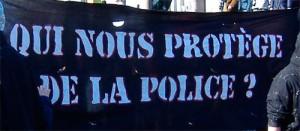 Copwatch rassemble des associations activistes qui suivent et filment les interventions des forces de l'ordre afin de prévenir le phénomène de brutalité policière. Le 15 mars est la Journée internationale contre la brutalité policière.
