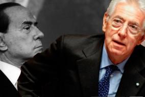 Mario Monti n'appartient formellement à aucun parti politique. En novembre 2011, il est nommé sénateur à vie. Le 13 novembre, au lendemain de la démission du président du Conseil Silvio Berlusconi, le chef de l'État le charge de former un gouvernement, ce qu'il accepte.