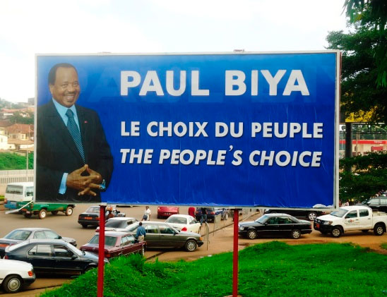 Paul Biya élections 2011
